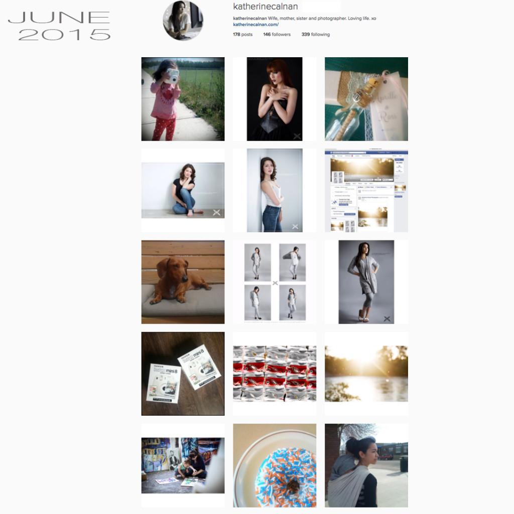 Katherine Calnan Photography Instagram Recap June 2015